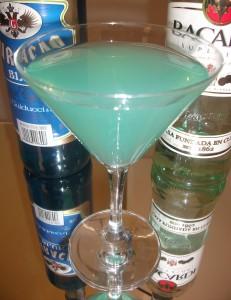 Angelo azzurro con base Rum chiaro