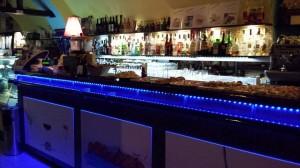 L'interno del bar caffetteria La Perla di Lerici (SP)