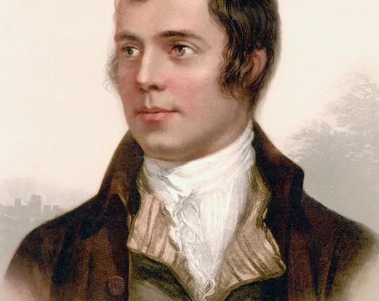 BGNMAC Robert Burns 1759 to 1796. Scottish poet.
