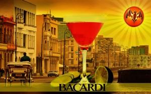 Foto artistica del cocktail Bacardi (AIBM Project)