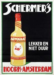 Vecchia pubblicità Advocaat