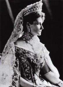 La Zarina Alexandra Feodorovna, moglie di Nicola II